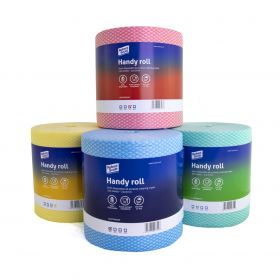 ALL PURPOSE CLEANING WIPE ROLL (350 SHEETS) HANDY ROLL