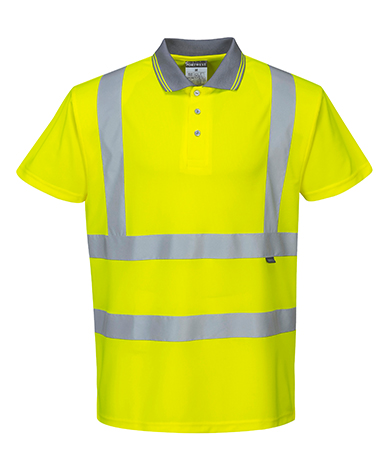 hi-viz polos and tshirts